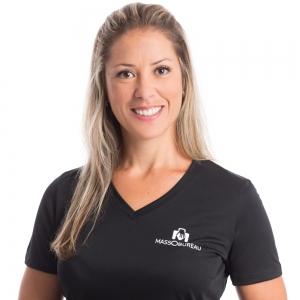 Isabel Pereira, diplômée depuis 2000, masso-kinésithérapeute, drainage lymphatique, 1500 heures de formation.