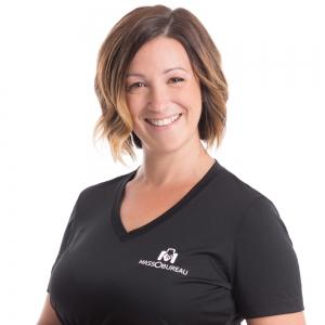 Nancy Laforge, diplômée depuis 2006,masso-kinésithérapeute, decongestion tissulaire, 2300 heures de formation